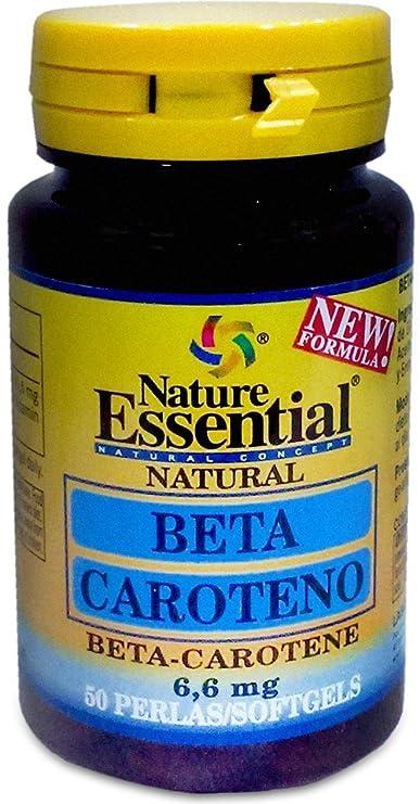 Nature Essential Betacaroteno - 50 Perlas: Amazon.es: Salud y cuidado personal