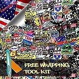 Free Tool Kit LION JDM Bomber Racing Graffiti Brand Car Auto Laptop Vinyl Wrap Sticker Decal Film Sheet - 60''X600''
