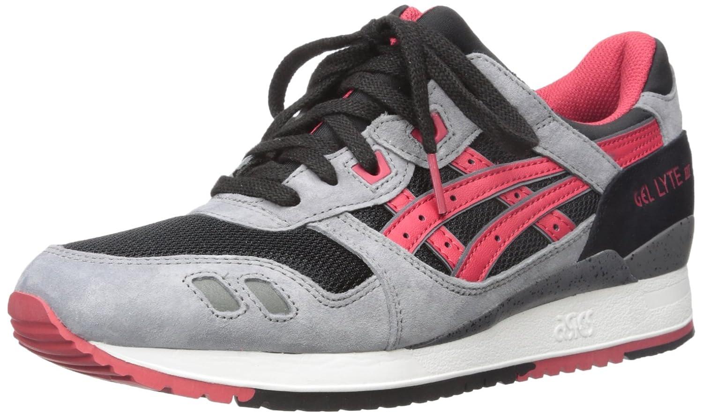 ASICS Men's GEL-Lyte III Retro Sneaker B013CII8YG 11.5 M US|Black/Classic Red