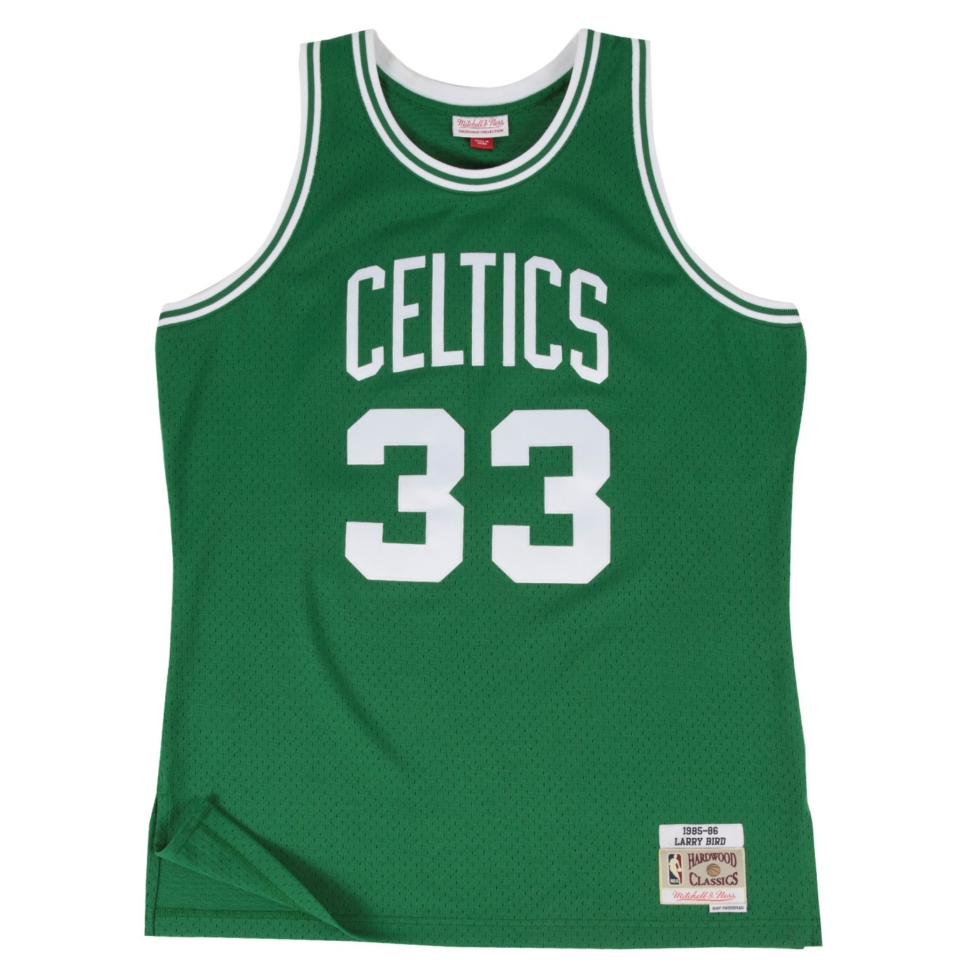 Mitchell & Ness Larry Bird Boston Celtics NBA Throwback HWC Jersey - Verde - 353J-FGYLBI, Verde: Amazon.es: Deportes y aire libre