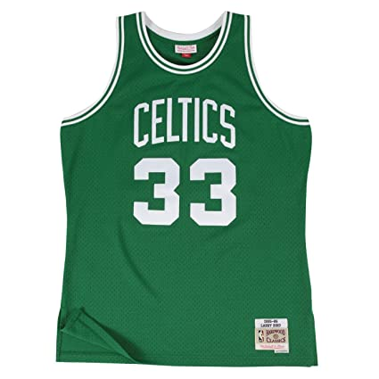 dd149ced0ce8 Larry Bird Boston Celtics Mitchell and Ness Men s Green Throwback Jesey  5X-Large