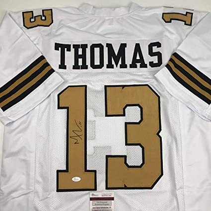 Image Unavailable. Image not available for. Color  Autographed Signed Michael  Thomas New Orleans Color Rush Football Jersey ... 0111363ae