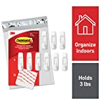 Command Medium Utility Hooks, 9-Hooks, 12-Strips (GP001-9NA) - Easy to Open Packaging