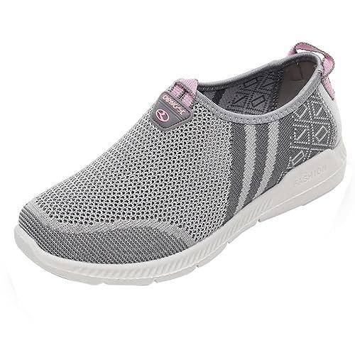 Zapatillas de Deporte Otoño 2018 PAOLIAN Calzado de Moda Dama Hueco Fiesta Botas Zapatos Casual Aire Libre y Deporte Senderismo Cómodos Zapatos de Running ...