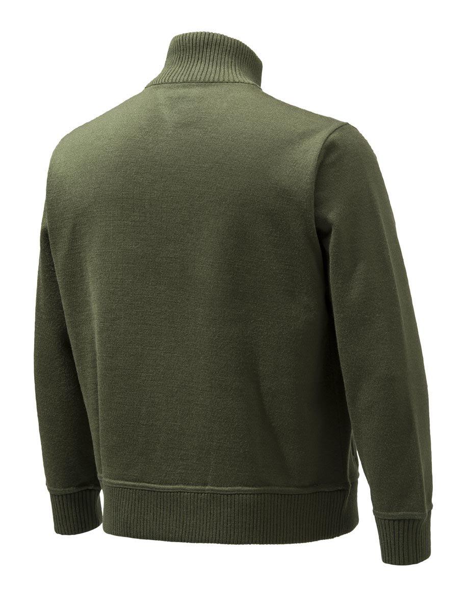 Beretta BEPU421T12010715S Techno windshield Half Zip Jacket, Green, Small by Beretta (Image #2)