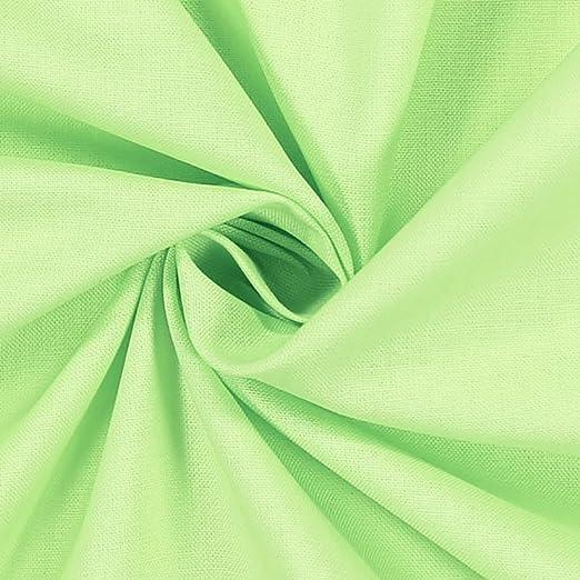 Tela al metro – Lienzo liso 100% algodón de trama 30 – 27, H. CM 240 – Verde Salvia: Amazon.es: Hogar