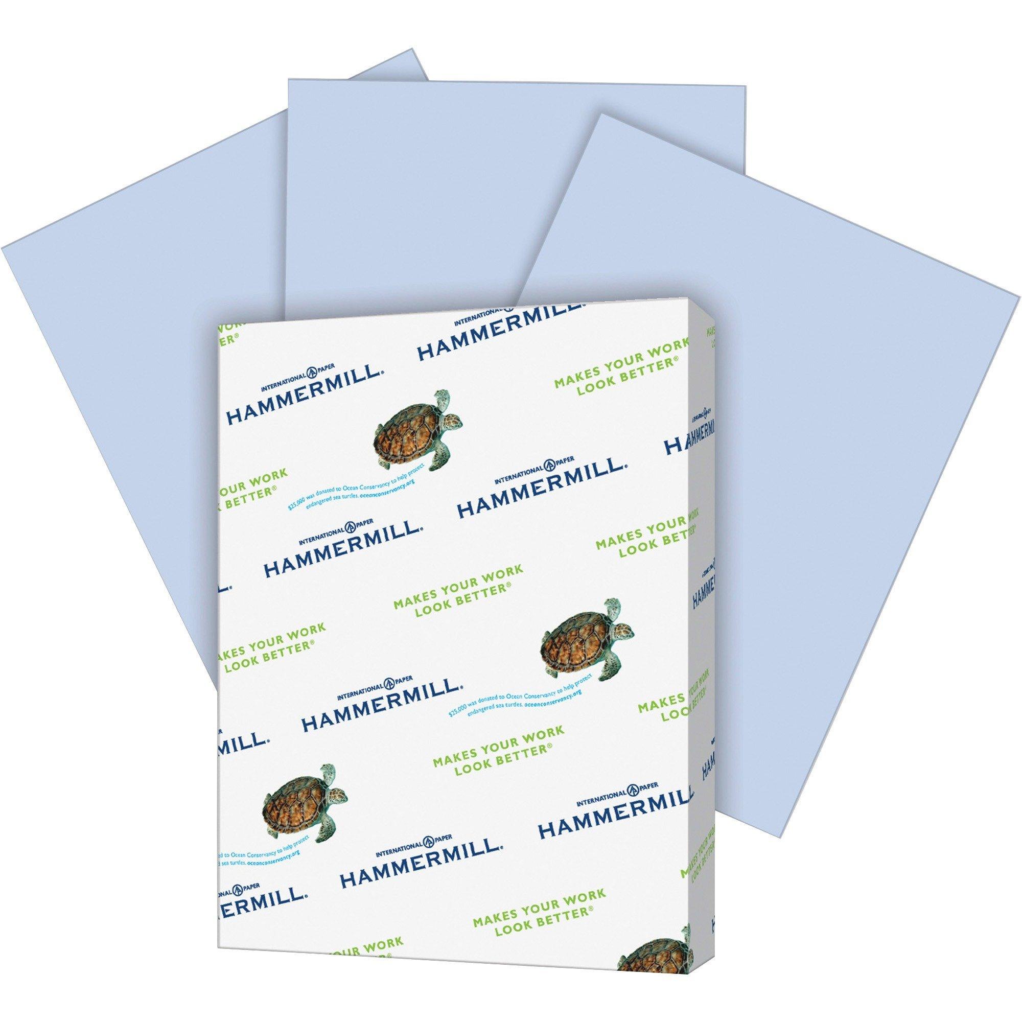 International Paper Company 103788 Colored Copy Paper, 20Lb, 8-1/2''x14'', 500/RM Orchid