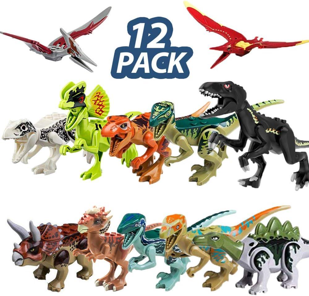 12pc Dinosaur Set Toys Action Figure Educational Games 12pcs