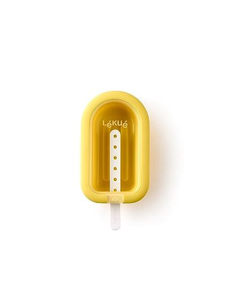 Compra Lékué Polo apilable Amarillo, Silicona, 1 Unidad en Amazon.es