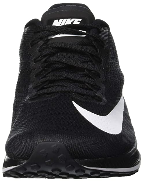 Amazon.com | Nike Mens Air Zoom Elite 10 Running Shoe Black White Size 9 D(M) US | Road Running