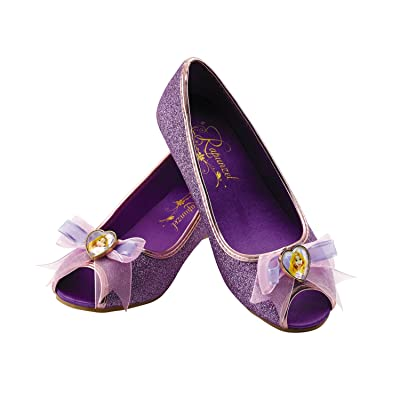 Rapunzel Disney Princess Tangled Prestige Shoes, 2/3 X-Large: Toys & Games