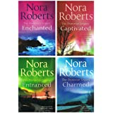 Nora Roberts Donovan Legacy: 4 books (Captivated / Entranced / Charmed / Enchanted)