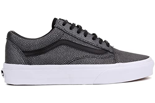 a512c5f42 Vans Zapatillas Old Skool Gris Negro EU 35 (US 4)  Amazon.es  Zapatos y  complementos