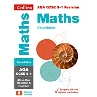 AQA GCSE 9-1 Maths Foundation All-in-One Revision and Practice (Collins GCSE 9-1 Revision)