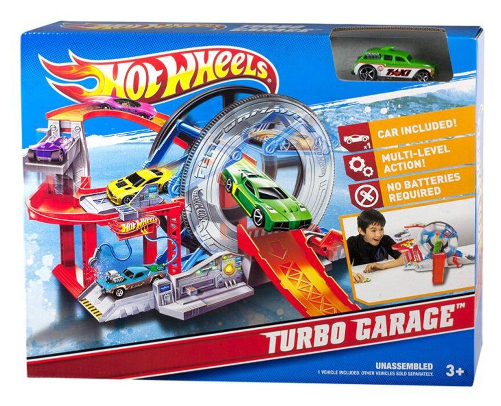 Hot Wheels Turbo Garage Playset (japan import): Amazon.es: Juguetes y juegos