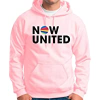 Moletom Feminino e masculino Blusão Canguru Now United Music Rosa