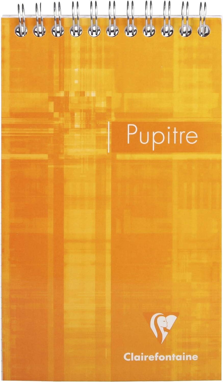 Clairefontaine 8152C Spiralblock DIN A4 farbig sortiert ideal f/ür Ihre Notizen kariert 1 St/ück 80 Blatt