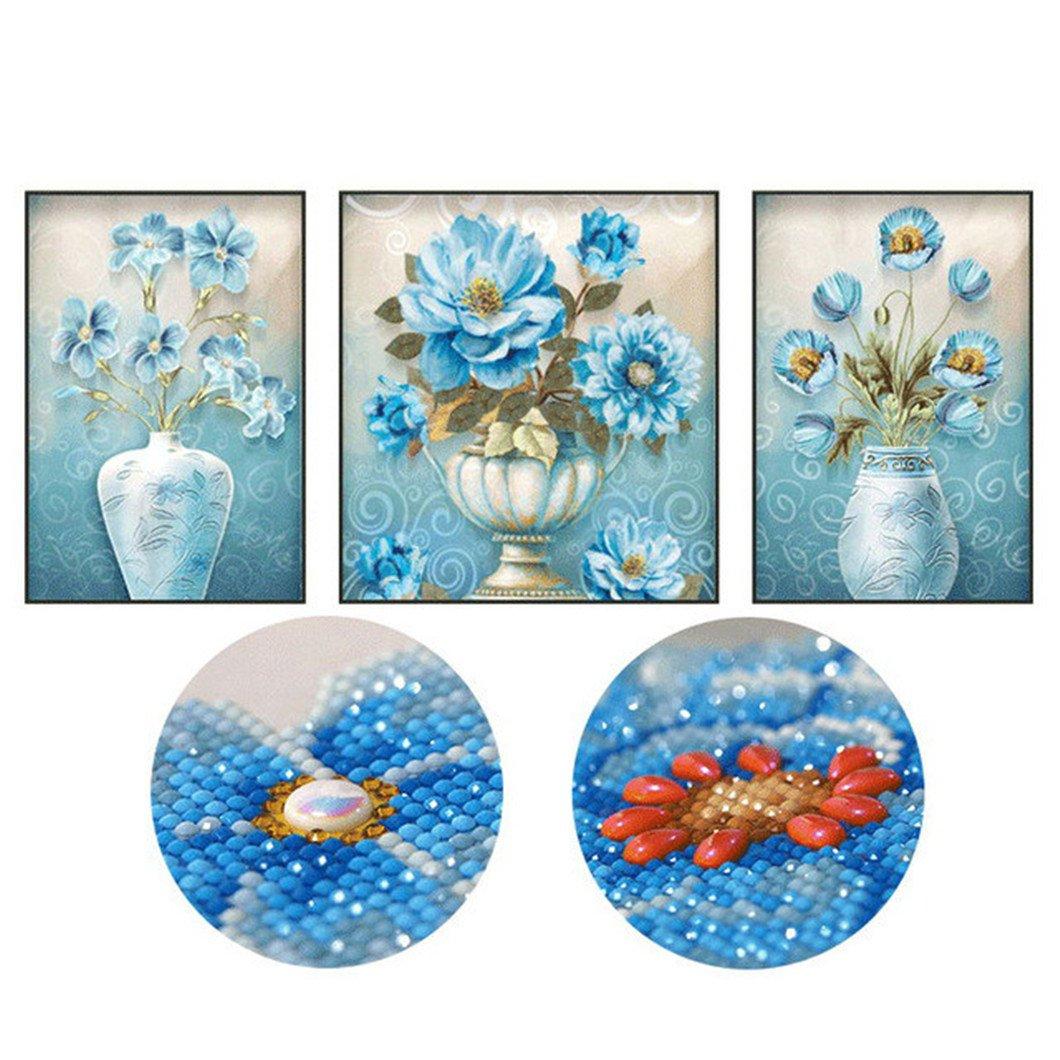 Mazixun DIY Diamond Painting Special ''Blue Enchantress''Diamond Embroidery Full Cross Stitch Diamond Mosaic Bead Picture Home Decor