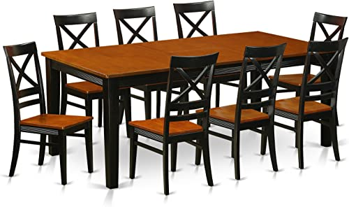 9 Pc Dining room set-Dining Table and 8 Dining Chair