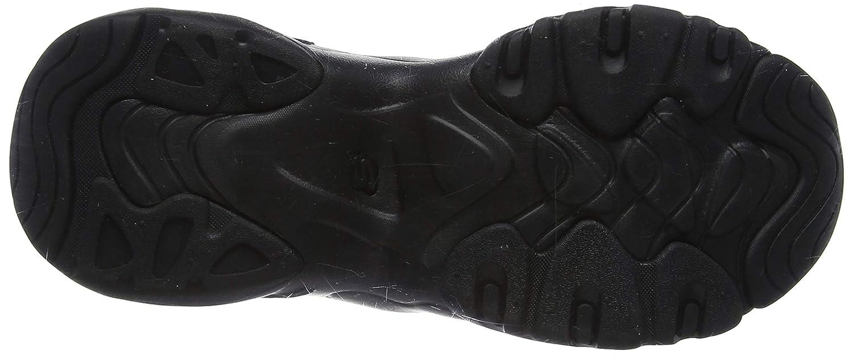 Skechers Damen D'lites 3.0-proven Force Sneaker Schwarz (Chestnut Duraleather/Off White Trim Bbk)