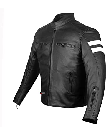 9594c3ae3645 New AXE Men s Leather Jacket Motorcycle Armor biker safety XXL