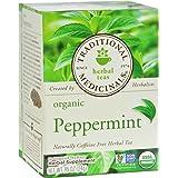 Single Herb-Organic Peppermint Tea Traditional Medicinals 16 Bag