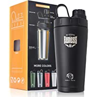 Stainless Steel Insulated Protein Shaker Bottle/Protein Shaker/Shaker Cup/Shake Mixer Bottle/Protein Mixes/Water Bottle…