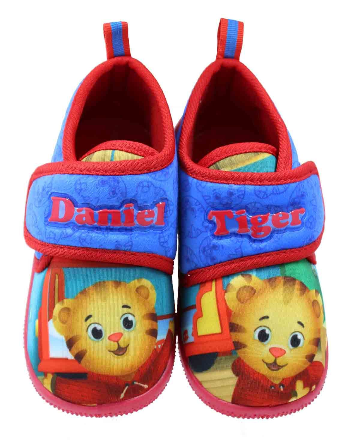 Daniel Tiger Toddler Daycare Slippers (7-8 M US Toddler)