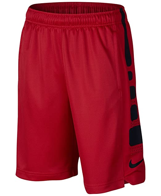 NIKE Boy's Elite Basketball Short University Red/Black Size X-Large