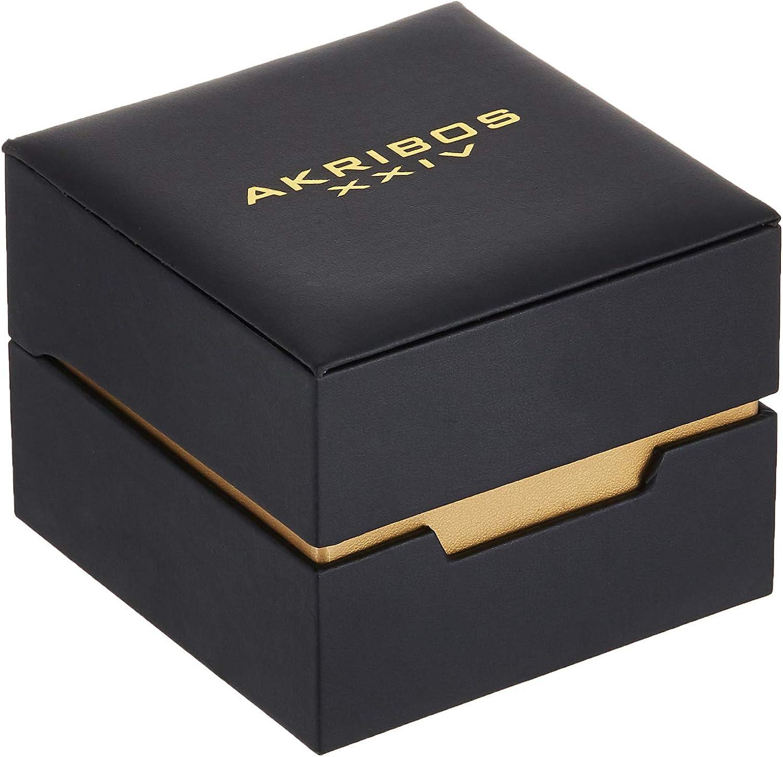 Akribos Swarovski Crystal Women's Watch - Diamond Markers On A Sunray Dial - Genuine Leather Strap Watch - AK1011 Plum Purple
