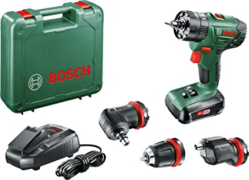 Bosch 06039A3400 Perceuse à percussion Advancedimpact 18 1 Batterie 18V 1,  5 Ah, Système 816eb381ff4c