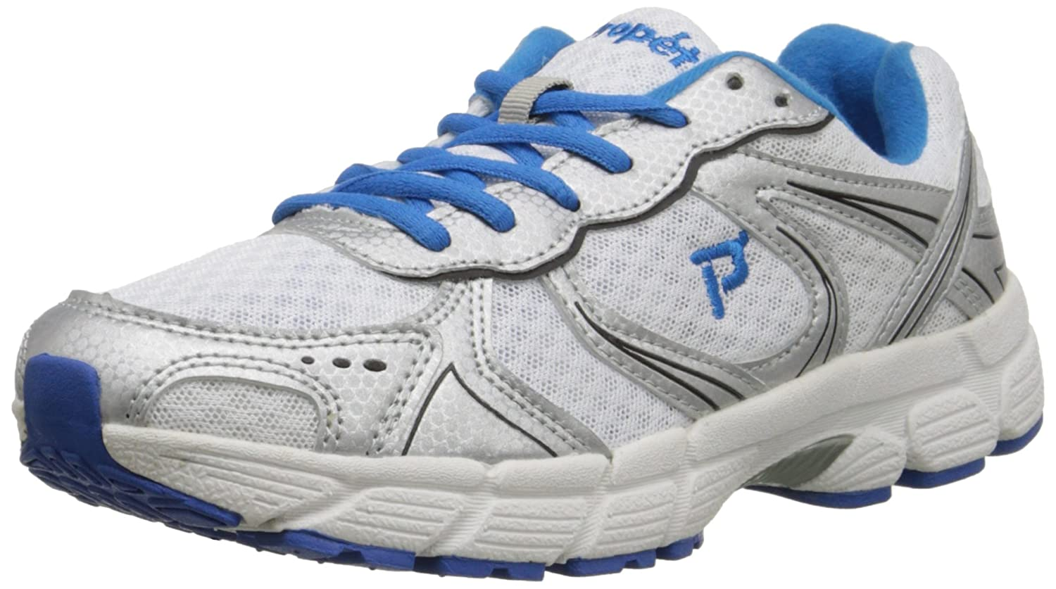 Propet Women's XV550 Walking Shoe B011RELRXG 11 N US|White/Royal Blue
