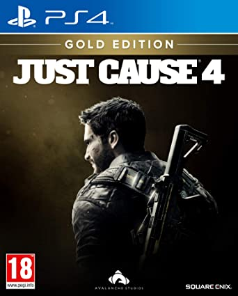 Just Cause 4 Gold Edition (PS4): Amazon co uk: PC & Video Games