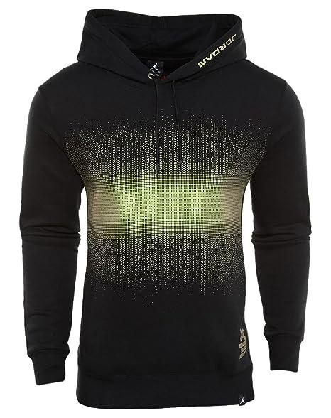 the best attitude 6dd69 b862a Nike Aj 13 Felpa Linea Air Jordan Uomo, Nero (Black), 2XL