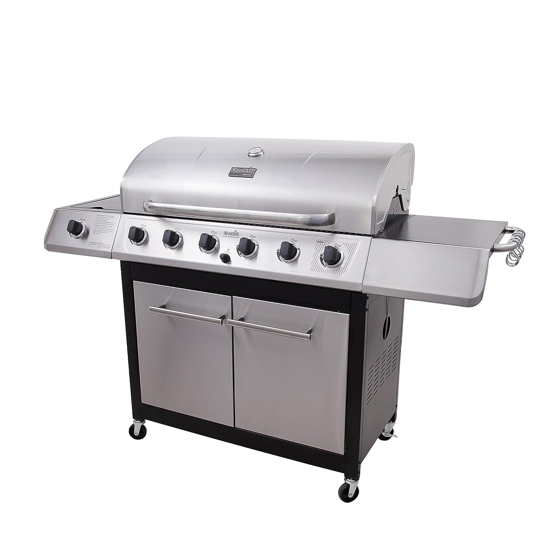 Amazon.com : Char-Broil Classic 6-Burner Gas Grill : Freestanding Grills :  Patio, Lawn & Garden