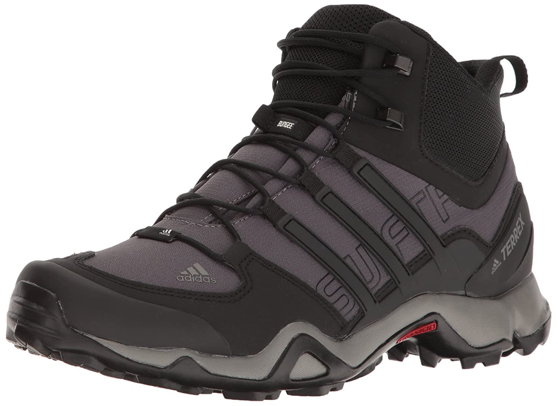 innovative design 8c810 60117 Amazon.com  adidas outdoor Mens Terrex Swift R Mid GraniteBlackCharcoal  Solid Grey 8 D US  Hiking Boots