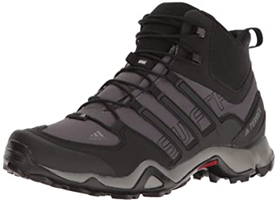 30b16c3873d59 adidas outdoor Men s Terrex Swift R Mid Granite Black Charcoal Solid Grey 8  D