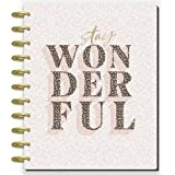 The Happy Planner Big Sized 18 Month Planner - Colorful Leopard Theme - July 2021 - December 2022 - Dashboard Layout - Monthl