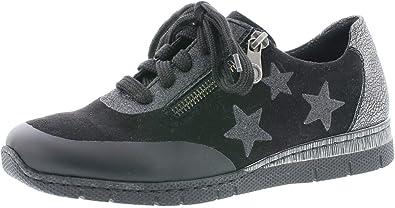 Rieker Femme Chaussures de Ville à Lacets N5322, Dame Chaussures de Sport