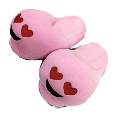 Ours En Peluche Rose + Coeur Ouvert Pantoufles lZFhr