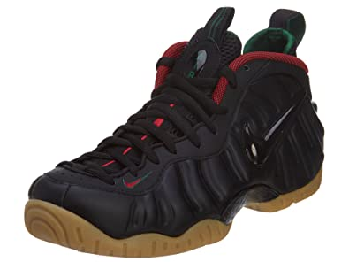 new style fc6fb 2f292 Nike Men s Air Foamposite Pro Black Green Gold Red 624041-004 (