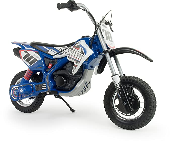 Injusa Moto Blue Fighter X-Treme De 24V para Niños, Color Azul, Talla Única (6832)