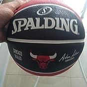 Spalding NBA Team Chicago Bulls Ball Balón de Baloncesto, Unisex ...