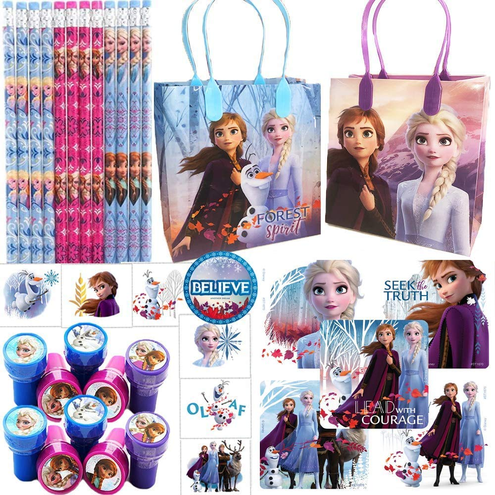 Disney FROZEN 2 MEGA PACK STICKERS Kids Crafts Party Bag Fillers Book ND80075 UK