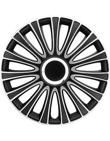 Autostyle LEMANS Set Lemans Negro/ - Tapacubos (4 unidades)