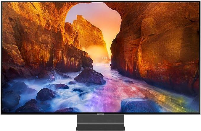 Samsung Q90R - Televisor QLED de 163 cm (65 pulgadas), 4 K (Q HDR, Ultra HD, HDR, sintonizador doble, Smart TV) [Clase energética A +]: Amazon.es: Electrónica