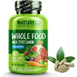 NATURELO Whole Food Multivitamin for Men 50+ - with Natural Vitamins, Minerals, Organic Extracts - Vegan Vegetarian…
