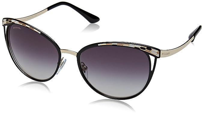 Amazon.com: Bvlgari BV6083 - Gafas de sol para mujer, 56mm ...