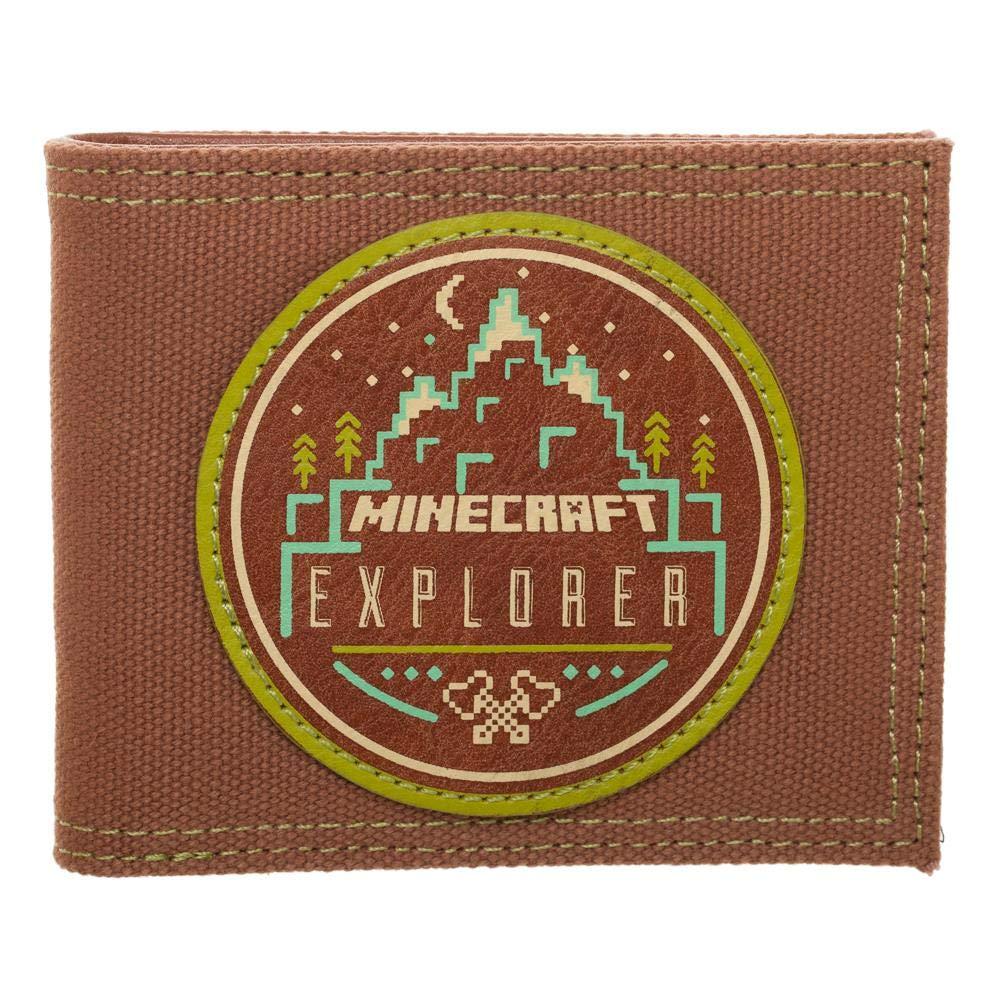 BioWorld Kids Minecraft Explorer Bifold Wallet