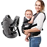 Baby Convertible Carrier, All Carry Position Newborn to Toddlers Ergonomic Carrier with Soft Breathable Air Mesh and All…